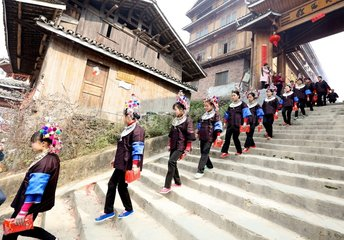 #CHINA-GUANGXI-DONG ETHNIC GROUP-TRADITION (CN)