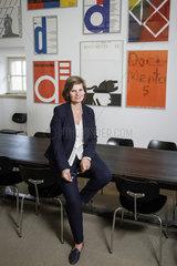 Annette Kulenkampff  Geschaeftsfuehrerin der documenta