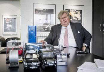 Bodo Buschmann  geschaeftsfuehrender Alleingesellschafter der BRABUS GmbH