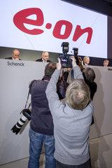 Hauptversammlung 2013 der E.ON SE - Fotografen