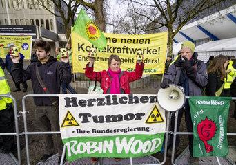 Hauptversammlung 2012 der RWE AG - Demonstration