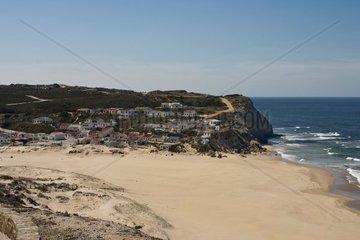 Monte Clerigo  einsames Dorf an der Westkueste von Portugal