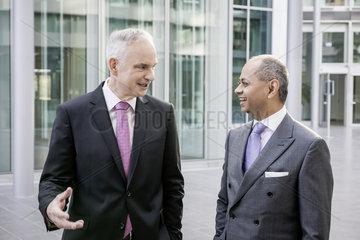 E.ON SE Bilanzpressekonferenz 2016 - Teyssen und Sen