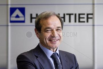 Marcelino Fernandez Verdes  Vorstandsvorsitzender der HOCHTIEF AG