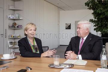 Doppelinterview Hannelore Kraft und Dr. Klaus Engel