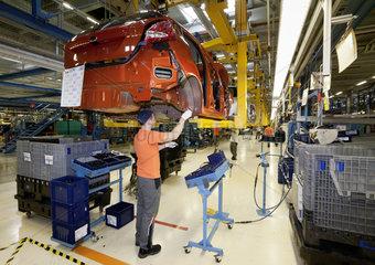 Ford Werke Koeln - Produktion
