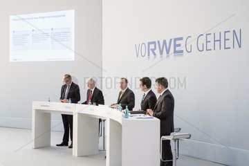 RWE AG - Bilanzpressekonferenz 2014