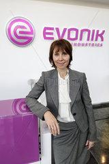 Bilanzpressekonferenz 2014 Evonik Industries AG - Ute Wolf