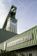Bergwerk Prosper-Haniel (Prosper V - Schacht 10) der RAG Deutsche Steinkohle