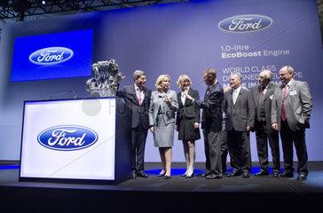 Produktionsstart des neuen Ford 1 0-Liter-EcoBoost Benzinmotor