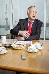 Bernard Meyer  Geschaeftsfuehrer der MEYER WERFT GmbH
