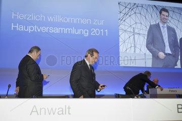 Hauptversammlung 2011 der HOCHTIEF AG
