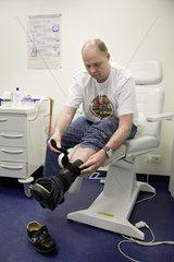 Diabetischer Fuss - Integrierte Versorgung in der diabetologischen Schwerpunktpraxis Dr.med. Martin Lederle