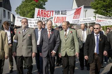 Maikundgebung der IGBCE mit Peer Steinbrueck