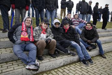 Testspiel Rot-Weiss-Essen (RWE) gegen Legia Warschau
