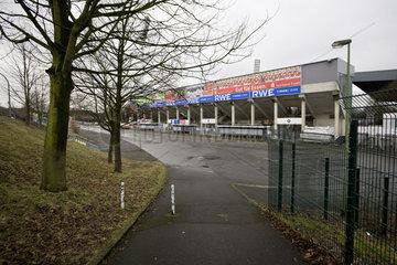 Georg-Melches-Stadion  Fussballstadion des Vereins Rot-Weiss-Essen
