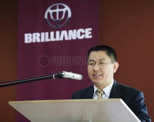 Konsul Quian Zhai  Leiter der Wirtschafts- und Handelsabteilung des Generalkonsulats der VR China