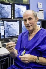 Prof.Dr. Raimund Erbel  Chefarzt der Klinik fuer Kardiologie am Universitaetsklinikum Essen