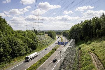 Ausbau des Stromnetzes auf der Nord-Sued Verbindung