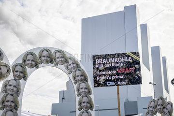 RWE Braunkohlekraftwerk Neurath - Inbetriebnahme BoA 2&3  Demonstration