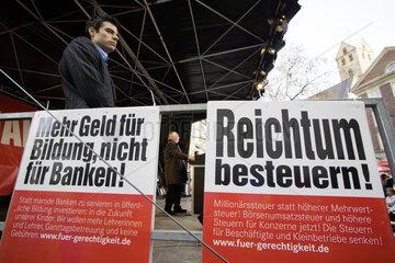 NRW Landtagswahlkampf - DIE LINKE