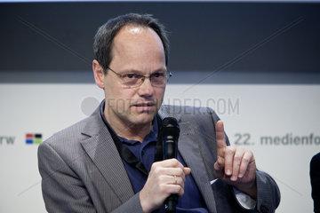22. Medienforum NRW 2010 - Dr. Kai Gniffke  Chefredakteur ARD-aktuell