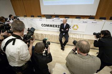 Martin Blessing  Vorstandsvorsitzender Commerzbank AG