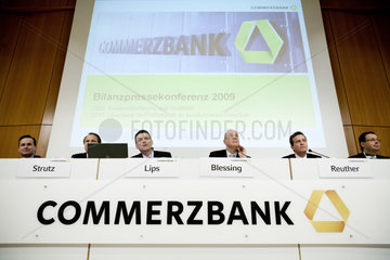 Bilanzpressekonferenz 2010 der Commerzbank AG