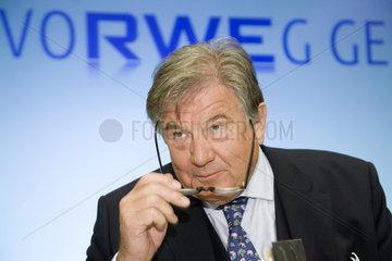 RWE AG - Dr. Juergen Grossmann  Vorstandsvorsitzender