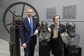 Dr.-Ing. Helmut Leube und Dr. Margarete Haase  DEUTZ AG
