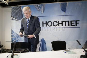 Dr.-Ing. Herbert Luetkestratkoetter  HOCHTIEF AG