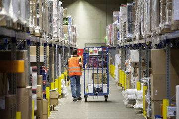 Amazon Logistikzentrum in Werne