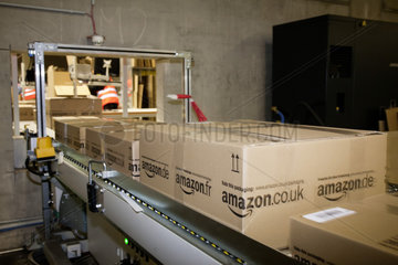 Amazon Logistikzentrum in Werne