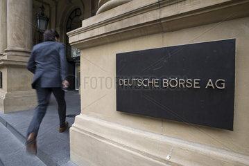 Deutsche Boerse in Frankfurt