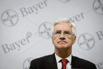 Heiner Springer  Pressesprecher der Bayer AG