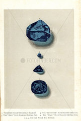 Blue Diamonds: Tavernier Indian  Brunswick  Hope  and Pirie