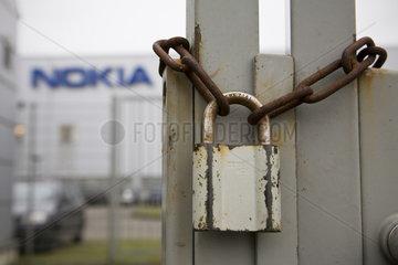 Werk des Handy-Herstellers NOKIA in Bochum
