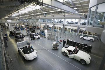 Wiesmann GmbH & Co.KG - Roadster- und GT-Produktion in der Wiesmann Manufaktur