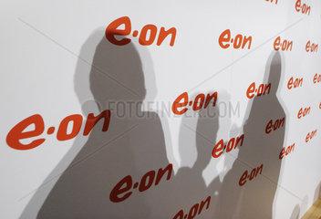Bilanzpressekonferenz der E.ON AG - Schattenriss