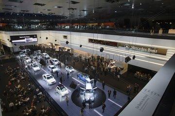 IAA 2007 - Messestand von Mercedes-Benz