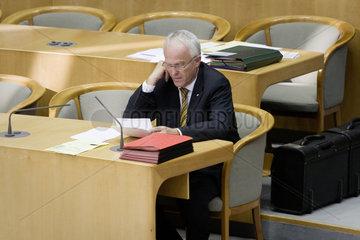 Landtag NRW - Dr. Juergen Ruettgers  NRW Ministerpraesident