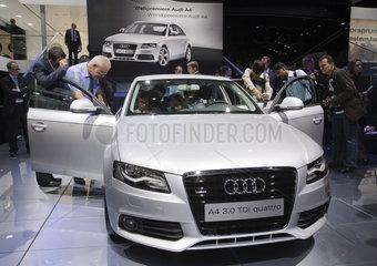 IAA 2007 - Neuvorstellung Audi A4