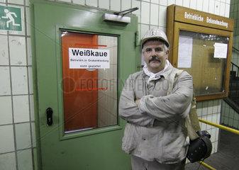 Peter Klingel   Bergmann und freigestellter Betriebsrat auf dem Bergwerk Hamm Ost
