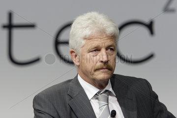 Benedikt Weibel  Vorsitzender der Geschaeftsleitung der SBB AG (Schweiz) und Praesident der UIC