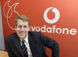 Friedrich Joussen  Vorsitzender der Geschaeftsfuehrung von Vodafone Deutschland