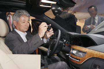 IAA 2005 - Hybrid Auto von Mercedes