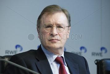 Berthold Bonekamp  Vorstandsmitglied der RWE AG