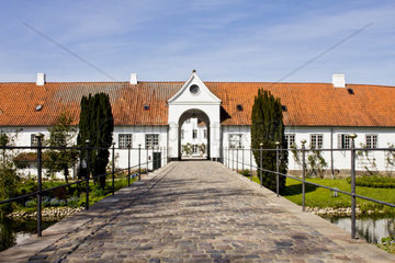 Access to the Royal Palace in Gluecksburg