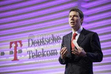 Rene Obermann  Vorstandsvorsitzender Deutsche Telekom AG