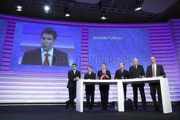 Bilanzpressekonferenz Deutsche Telekom AG